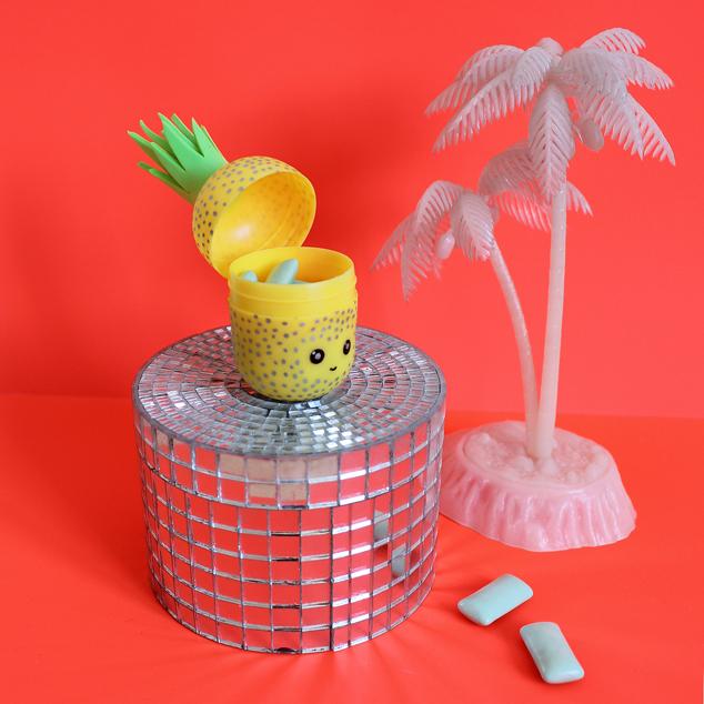 diy kopfh rer aufbewahrung ananas eaudecollage blog. Black Bedroom Furniture Sets. Home Design Ideas