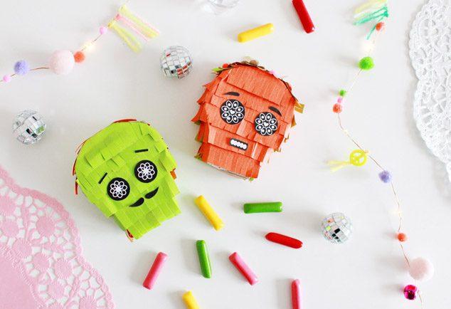 DIY Halloween Sugar Skull Pinata