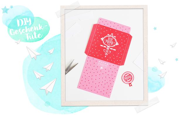 Diy Geschenktüte Zum Muttertag Mit Free Printable Diy Blog Aus Köln