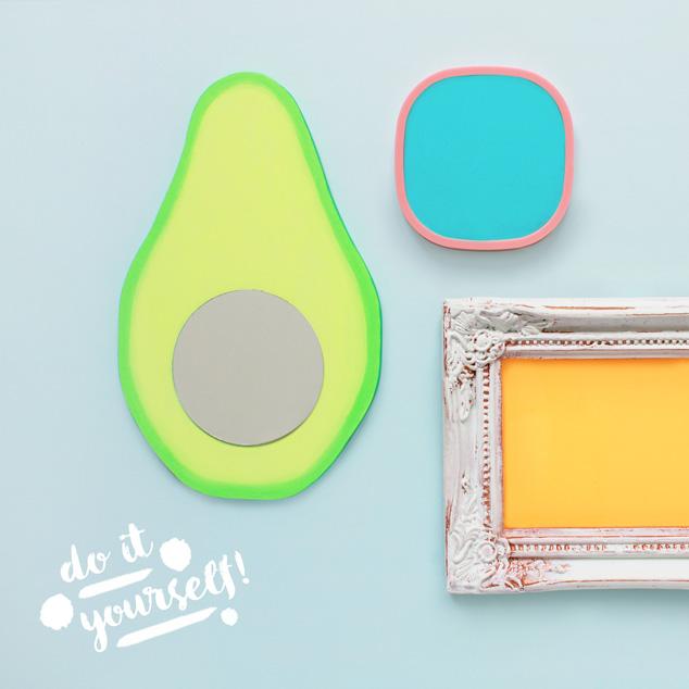 DIY Avocado-Spiegel